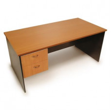 Desk with 2 Drawer Pedestal