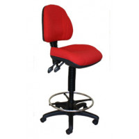 Opal Medium Back Drafting/Teller chair
