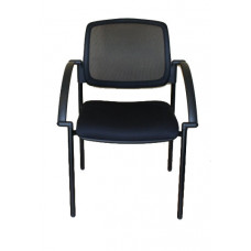 Bentley Mesh Visitor Chair with arms